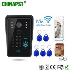precio de fábrica WiFi Video Portero con el control de acceso y conexión inalámbrica a desbloquear (PST-WiFi002IDS)