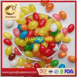 Coloridas delicioso sabor a fruta dulce de caramelo suave Jelly Bean Jommy