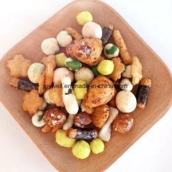 Les craquelins de riz croustillant de couleur différente Hot Sale de bon goût mélange coloré de collations