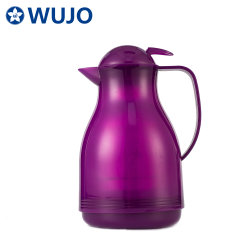 Стекло Wujo вакуум с насечками горячей холодной воды кофе пластиковые бутылки с термосом