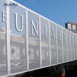 Qualitätschinesen passen Aluminiummaschensieb für Wohngebäude an