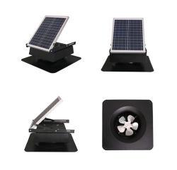 Ventola di scarico per ventilazione ad aria regolabile con pannello solare da 20 Watt