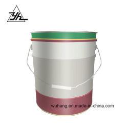 Populares de promoción de 17 litros contenedor de envases de lata de metal
