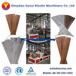 La résine de PVC Matériau Matière plastique de vinyle Ligne de Production de revêtements de sol SPC