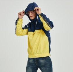 男性ヒップホップのジャケットの軽量のウインドブレイカーのStreetwearの方法スポーツジャケット