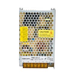 Источник питания 12v/24V с постоянным напряжением постоянного тока 150 Вт Светодиодные лампы панели мониторинга выделенной памяти