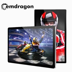21,5 Inch Muurbevestiging Acryl Digitale Fotolijst Lcd Digitale Signage Touchscreen All-In-One Pc Insurance Companies Advertising Player