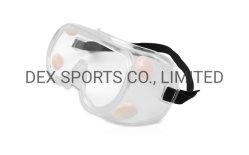 OEM de Chirurgische Beschermende brillen van het Oog van de Bril van de Veiligheid van de Anti van het Speeksel PVC/PC van de Lens Mist van het Laboratorium Beschermende met Ce/FDA