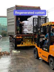 Китай Производитель Прямые продажи Регенерированные хлопчатобумажные пряжи Китайская фабрика Низкая Цена Регенерированная хлопковая пряжа для носки свитера повязка на голову полотенце перчатки