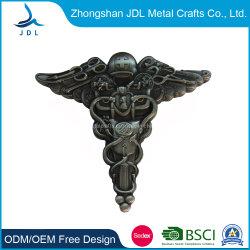 純粋な卸し売り模造柔らかいエナメルの金属メダルおよび堅いエナメル軍メダル硬貨の供給のカスタム簡潔な方法大気の金貨24K (056)