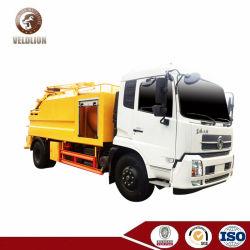 진창 탱크와 민물 탱크 (이탈리아 진공 펌프 고압 분출 펌프)를 가진 Dongfeng Kingrun 4m3 6m3 8m3 10m3 12m3 조합 진공 분출 트럭