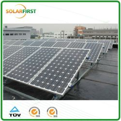 Из алюминиевого сплава треугольник на крыше структуры для панели солнечных батарей