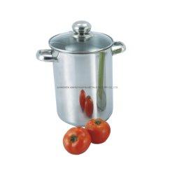 Glazen deksel Groenteroestvrijstalen Kookgerei Set Steamer Aspergepot Voor het koken
