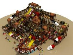 Джунгли тема для использования внутри помещений мягкая игровая площадка парк развлечений (TY-20140299)