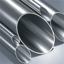 أنبوب انسيابي من الفولاذ المقاوم للصدأ A312 Tp321 بقطر خارجي سُمك 44,5 مم 2,9 مم