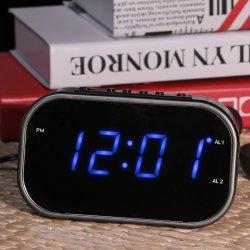 LEDミラーのファン装備車のデジタル大きい目覚し時計