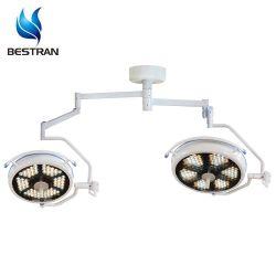 BT-LED700500b CE معتمد من قبل CE LED مزدوج الرأس مثبت في السقف التشغيل بدون ظلال المصباح الطبي الجراحي الباردة أضواء السعر