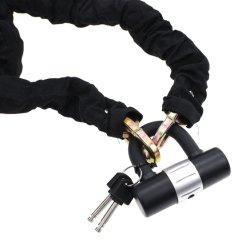Segurança de Bloqueio da cadeia pesada da cadeia de Moto Bike Bloqueio do disco com 16mm U Lock (YH1509)