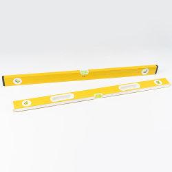 양밀링된 정밀 수동 자력수 버블 알루미늄 박스 스피릿 수준