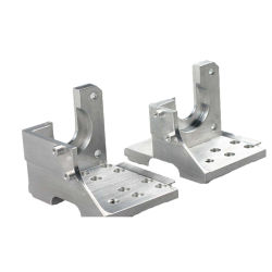 Los perfiles extruidos de aluminio CNC de aluminio anodizado de aluminio mecanizado de piezas y extrusión Corte Taladrado