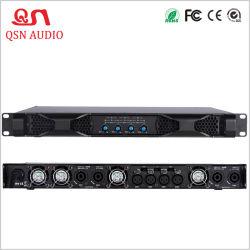 Grande tension 1u 1200W 1800W 4 Channal amplificateur audio de puissance professionnel D4120