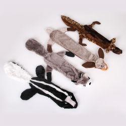 Chien Squeaker jouets en peluche Set chien personnalisé de gros de jouets en peluche Chew pas de rembourrage doux grinçant Chien de compagnie Toy