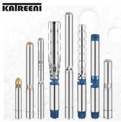 6 pollici 8 pollici dell'acciaio inossidabile del pozzo trivellato del pozzo profondo di pompa ad acqua solare a più stadi verticale sommergibile