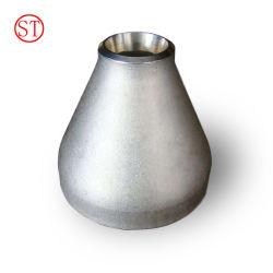 ASME B16.9 excéntrico colocación del tubo de acero inoxidable reductor