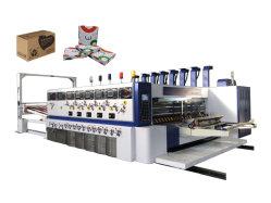 Caixa de papelão ondulado máquina de fazer impressão em papelão engatou Die Máquinas de corte