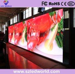 Piscina P4 Placa de sinal do Visor de LED para publicidade