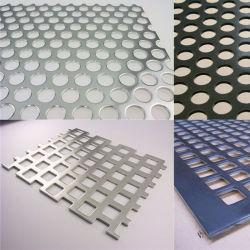 La fabricación de bajo precio orificio diferente la forma de malla metálica perforada galvanizado electro