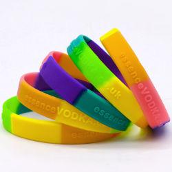 卸し売り安いカスタム方法ケイ素のスポーツの印刷のロゴのケイ素の輪ゴムのシリコーンのリスト・ストラップの昇進のギフトのためのゴム製ケイ素のブレスレット