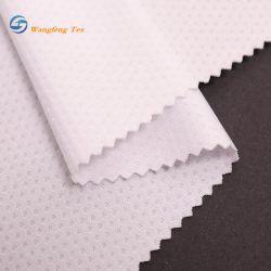 Textiles tejidos para ropa zapatos vestido Camiseta forro de prendas de vestir de Spandex tejido de malla de poliéster reciclado