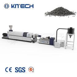 PE PP HDPE Pellets de plástico rígido, el reciclado de la extrusora de granulación