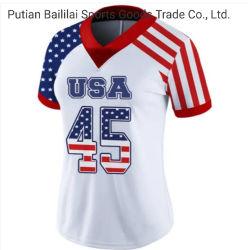 Los patrones de bordado bordado el fútbol de la malla nº 45 camisetas ropa deportiva