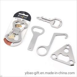 Regalos promocionales diseño patentado de forma de moda Mini Cuchillo de acero inoxidable y Abrebotellas (YB-BO-15)