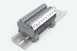 De Eind (modulaire) Blokken van het Spoor van DIN