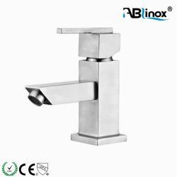 Singolo rubinetto di acqua del miscelatore della lavata del bacino del foro dell'acciaio inossidabile 304
