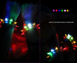 Enciende LED Pulsera pulsera de silicona
