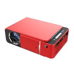 Технология DLP высокого класса T6 3D Full HD на открытом воздухе интерактивные накладных WiFi дома Android LED видео голограмма мини проектор