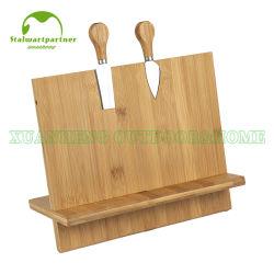 Lama e portautensile magnetici di bambù