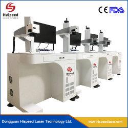 Schmucksache-Faser-Laser-Markierungs-Maschinen-Laser-Ring-Markierungs-Maschine CNC-30W