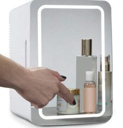 6 л горячей холодной мини-LED зеркало для макияжа в холодильник для косметики