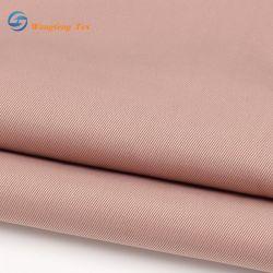 100% Polyester de soie colorée comme teints en tissu à armure sergé doublure satin de bonne qualité