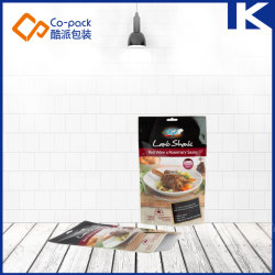 Pochette Microwavable Retort haute barrière pour la cuisson des aliments