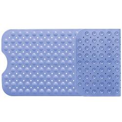 Без пробуксовки колес большой душ коврик Ванна антибактериальные предохранительный коврик опорные длинный прямоугольник в ванной комнате пол ручка для детей и пожилых людей