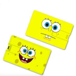 Cadeaukaart USB 4 GB 8 GB 16 GB 32 GB 128 g USB2.0 Business Geheugenkaart met USB-flashdrive