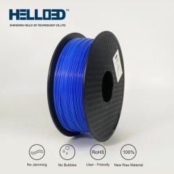 Bleu ciel filament d'impression 3D couleur PLA 1,75 mm pour l'imprimante 3D