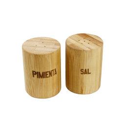 Sal e pimenta e especiarias do sacudidor jar para cozinha