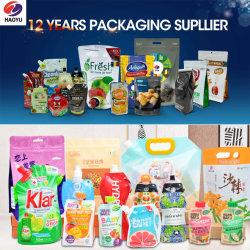 Kundenspezifische Plastiktasche-Verpacken- der Lebensmittelkosmetik, die Fastfood- Beutel 60ml-5L für Wasser-Saft-Milch-Reinigungsmittel verpackt